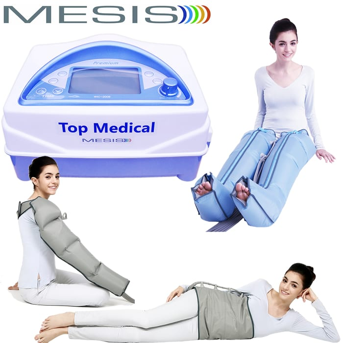 Pressoterapia Mesis Top Medical Premium con accessori