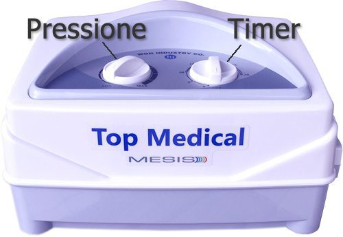 Pressoterapia Top Medical facile da usare