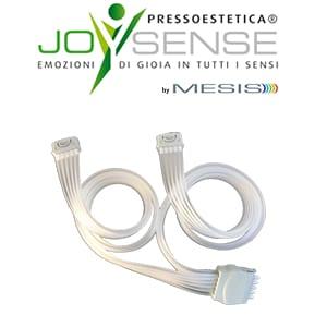 Pressoestetica JoySense connettore doppio gambali