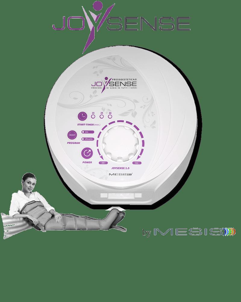 Pressoterapia estetica PressoEstetica JoySense 2.0 con 2 gambali e kit estetica